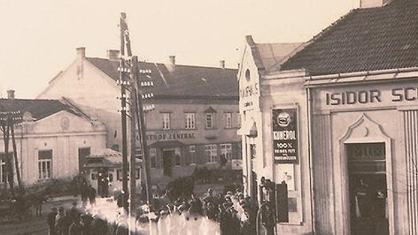 Das ehemalige jüdische Viertel in Frauenkirchen