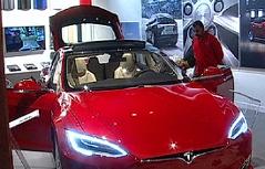 Autoverkauf Authändler Tesla Händler Autohandel