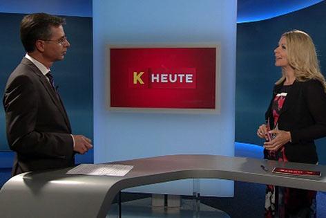 Chefredakteur Bernhard Bieche Sonja Kleindienst