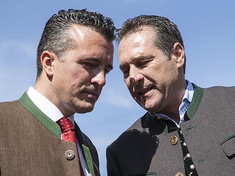 Landesparteitag FPÖ Darmann Strache