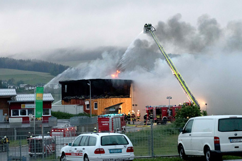 Brand in Altenfelden