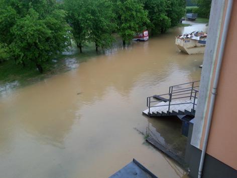 Überflutungen im Innviertel