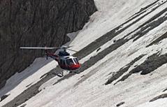 Bergsteiger im Birgkar in Nassschneelawine getötet