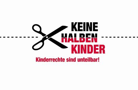 """""""Keine halben Kinder"""" - Kampagne für die Rechte von minderjährigen geflüchteten Kindern"""