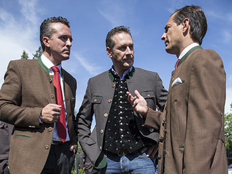Landesparteitag FPÖ Darmann Strache Ragger