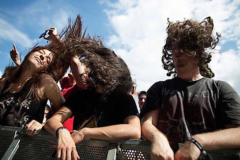 Fans bei Rock in Vienna