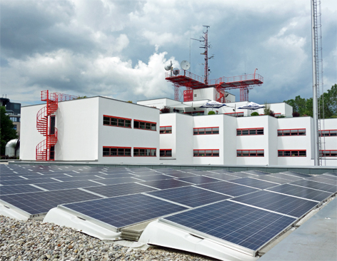 Photovoltaikanlage im ORF