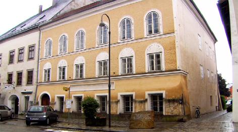 Hitlers Geburtshaus Braunau