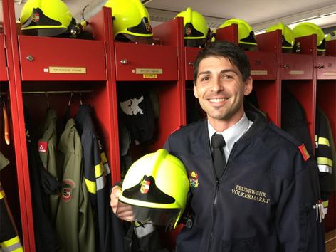 Helm Feuerwehr Völkermarkt