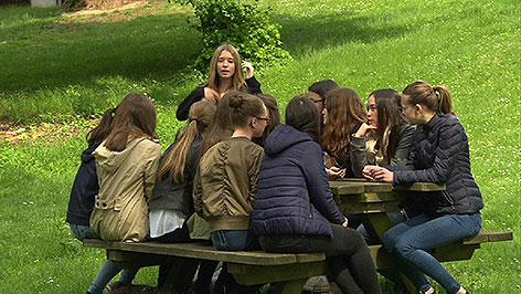 Schülerinnen in Eisenstadt