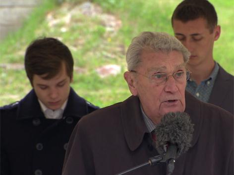 KZ Überlebender Dusan Stefancic