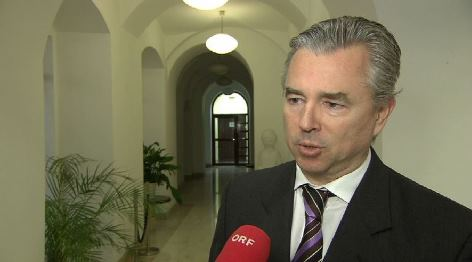 Vladimír Mlynár, Vorsitzender des Volksgruppenbeirats für Slowaken