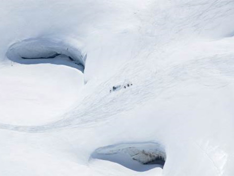 Sonnblick Gletscher Messungen Schneedecke