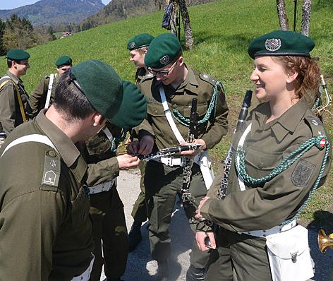 Militärmusik Salzburg Soldaten Bundesheer