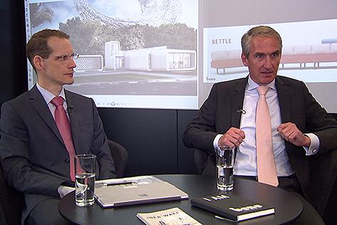 Bene Waidhofen an der Ybbs Vorstand Jörg Schuschnig links und Michael Fried rechts