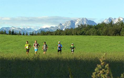 Ultraläufer Laufen 100 Kilometer Lauf