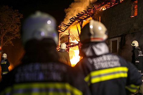 Großbrand in Pettenbach