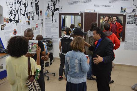Die Ausstellungseröffnung von Naija Akatarians.