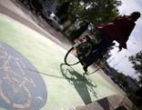 Radfahrer, Radweg, Fahrrad