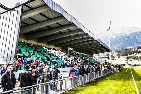 Gernot Langes Stadion Wattens