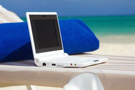 Muss man im Urlaub online sein?