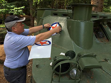 Bunkermuseum Ausstellung Zehn-Tage-Krieg