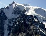 Gletscher Schneefeld Gletscherzunge Südtirol Ortler