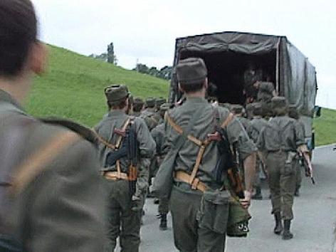 Slowenien Unabhängigkeit Krieg