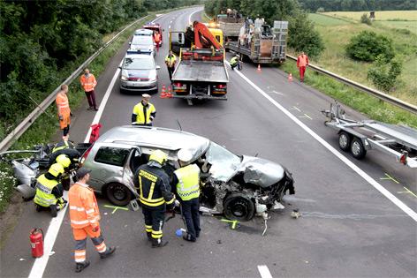 Unfall A25 Heute