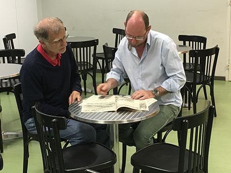 Gert Eggenberger und Gerhard Lapan