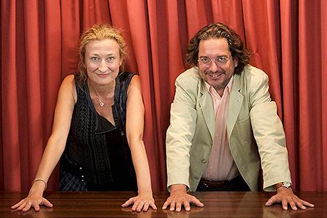 Michaela Seidl und Daniel Truttmann