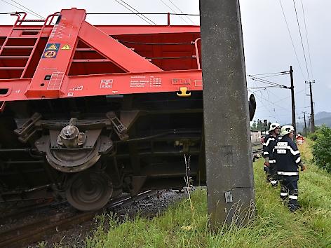 Zug entgleist Mürztal