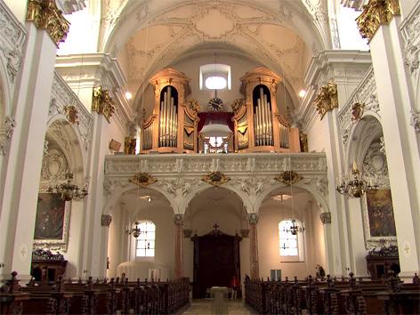 Brucknerorgel im Alten Dom in Linz