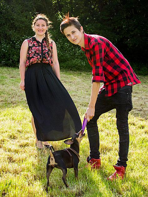 Hundelieb Gründer mit Hund