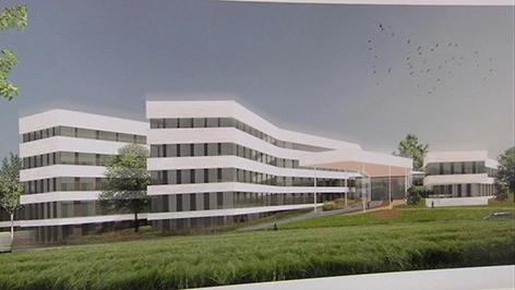 Krankenhaus Oberwart Plan Modell
