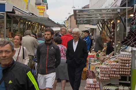 Brunnenmarkt Türken