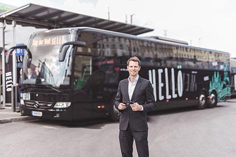 ÖBB Fernbusse Geschäftsführer Tobias Hann