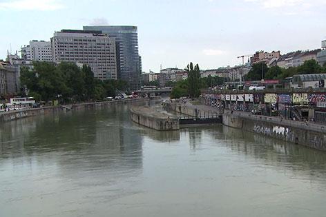 Schwimmende Gärten Donaukanal