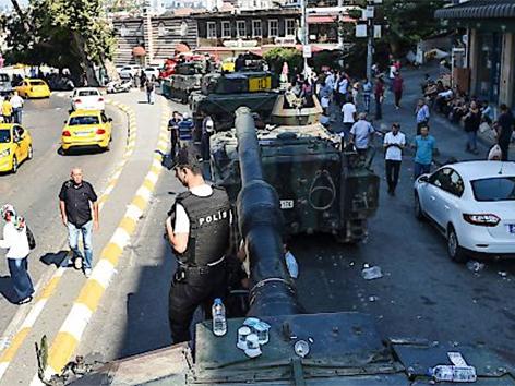 Istanbul nach dem gescheiterten Putsch