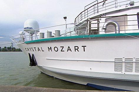 Crystal Mozart Flusskreuzfahrtsschiff