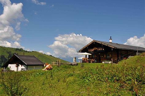 Jacklbauernhütte in Saalfelden