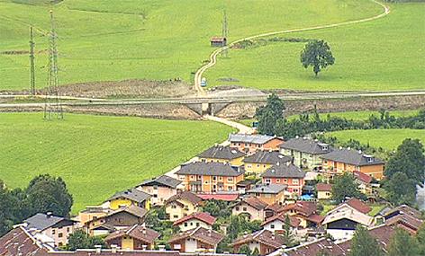 Gries Bruck Kraftwerksbau Wasserkraft Kraftwerk