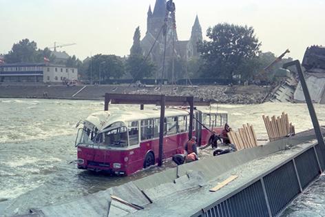 Bus Reichsbrücke Wiener Linien