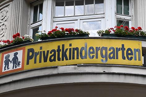 Schild Alt-Wien-Kindergarten