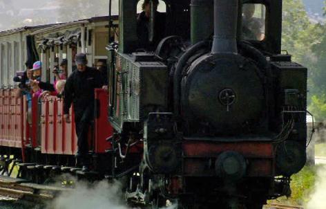 Zug der Achenseebahn