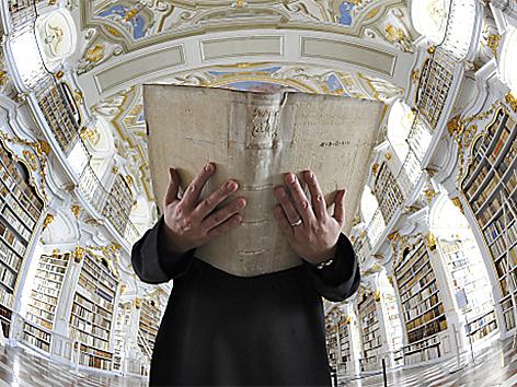 Klosterbibliothek des Benediktinerstifts in Admont