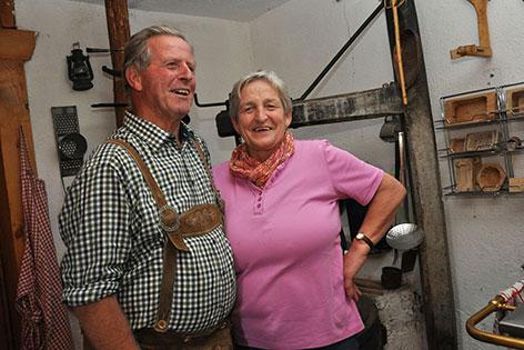Johann und Vroni Foidl