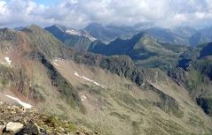 Sommerliche Berge im Lungau (Nieder Tauern)