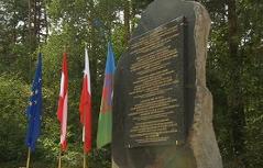 Enthüllung Gedenkstein Polen