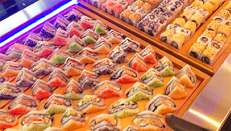Sushi Video Internet Facebook